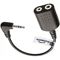 Adattatore/connettore ICOM 2 pin auricolare a Motorola 1 pin radio: TKLR T3, TKLR T4, TLKR T5, TLKR T6, TLKR T7, TLKR T8, TLKR T9 - T3 T4 Adattatore