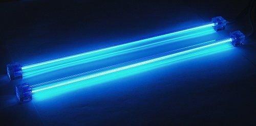 Neonröhre Kaltkathodenröhre (CCFL) 2er-Set 30 cm blau
