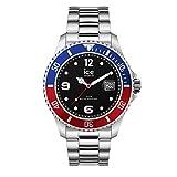 Ice-Watch - Ice Steel United Silver - Reloj Plata para Hombre con Correa de Metal - 16545 (Medium)