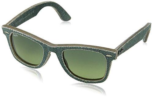Ray Ban Unisex Sonnenbrille Wayfarer, (Gestell, Gläser: Grün Verlauf 11663M), Medium (Herstellergröße: 50)