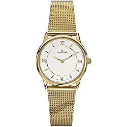 Dugena Women's Quartz Watch Dugena Basic 4460440 with Metal Strap