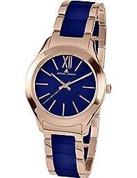 Jacques Lemans Damen-Armbanduhr Rome Analog Quarz Edelstahl beschichtet 1-1796I