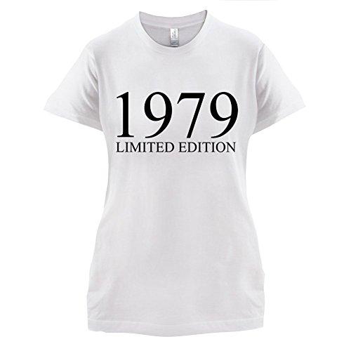 1979 Limierte Auflage / Limited Edition - 38. Geburtstag - Damen T-Shirt - 14 Farben Weiß