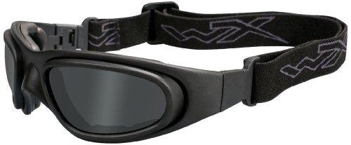 Wiley X Schutzbrille SG-1 Im Set mit 2 Gläsern, Matt Schwarz, S/XXL, 71