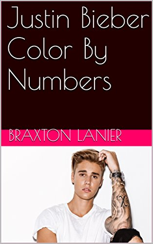 justin-bieber-color-by-numbers-activity-books-for-all-ages-book-1-english-edition