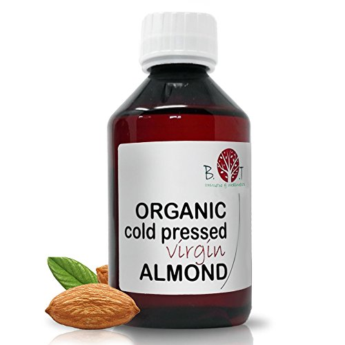 Bio Zertifizert Mandelöl kaltgepresst Öl (250 ml)
