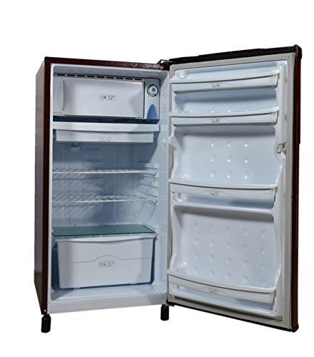 Videocon 170 L Direct Cool Single Door 3 Star Refrigerator (VAE183, Burgundy Red)