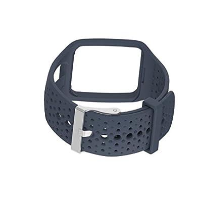 kingko® Ersatz Silica Gel Soft Band Strap Für TomTom Runner Cardio GPS HR Uhr
