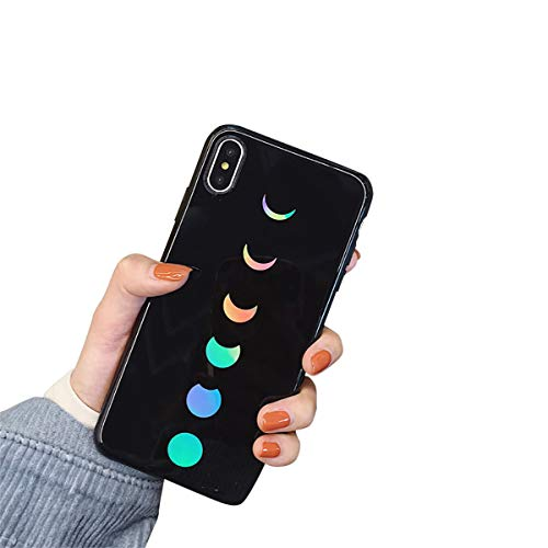 Bakicey iPhone XR Hülle, iPhone XR Handyhülle Weich Silikon Mode Chic Schutzhülle Bumper Cover Kratzfeste Stoßfest Ultra dünn Hülle case für Apple iPhone XR (Eclipse) Eclipse Handy