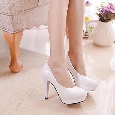 Moda Donna Sandali Sexy donna tacchi Primavera / Estate / Autunno tacchi / Punta PU Office & Carriera / Casual Stiletto Heel Altri beige