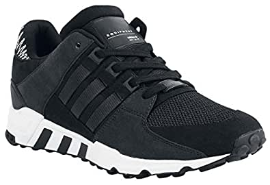 adidas uomini eqt sostegno delle scarpe di fitness, nero: