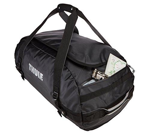 Thule Chasm Duffel Bag 90L (Rucksack und Reisetasche in einem) schwarz Schwarz