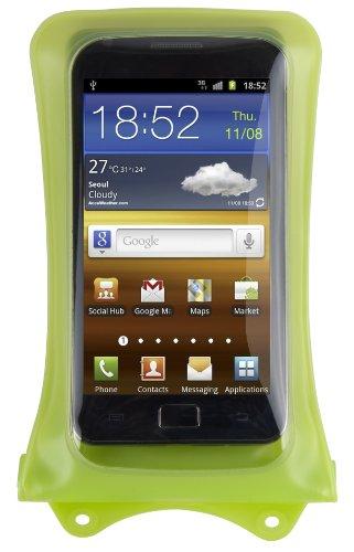 """DicaPac WP-C1 wasserdichte Smartphone Hülle für Smartphones bis zu 4,7\"""" / 11,9cm in grün"""