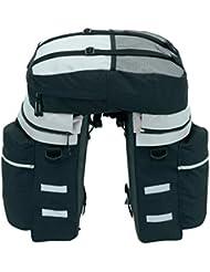 Fahrradtasche Gepäckträgertasche Packtaschen Fahrrad Rucksack Satteltasche Neu