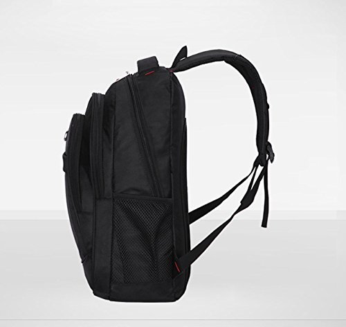 BAAFG Outdoor Nylon Rucksack Black