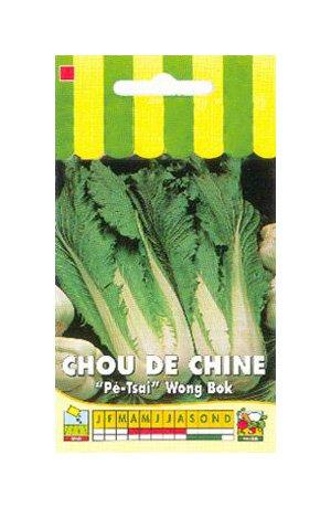 Les Graines Bocquet - Graines De Chou De Chine Pé-Tsai Wong Bok - Graines Potagères À Semer - Sachet De 3Grammes