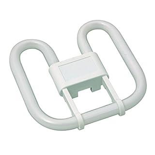 Kosnic 28w 2D Square 4-Pin Gr10q Cap Standard White (3500k) Compact Fluorescent Lamp, Glass, 28 W, Warm
