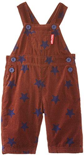 Toby Tiger Brown With Blue Stars Cord Dungarees - Ropa interior de deporte Niños Toby Tiger