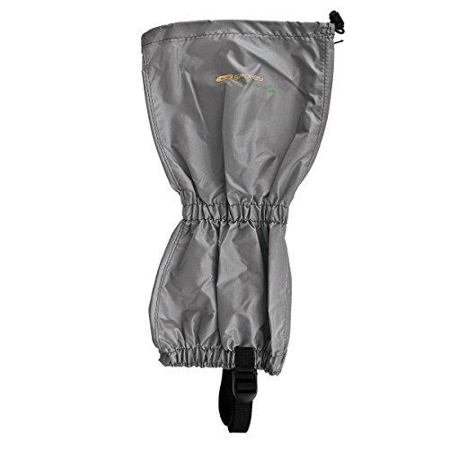 SPOKEY® SCOUT/INFANTRY Gamaschen (Stulpen Gamaschen Fußmanschette Abdeckung Nordic Walking Trekking Wandern Garten Outdoor) Black