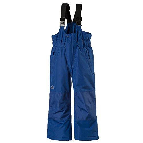 McKinley Ray Skihose Buddelhose für Kinder, Größe:152, Farbe:Blue Dark (Ski Latz Schnee Hose)