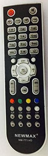 NEWMAX Remote Control for Satellite Receiver