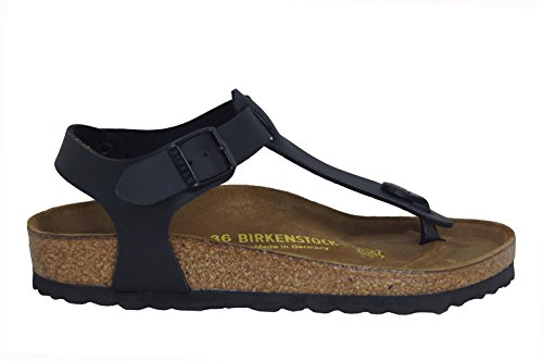 Birkenstock Kairo , Sandales mixte adulte noir - noir