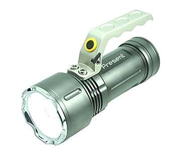 Lampe torche LED métal rechargeable 4,2V - Present