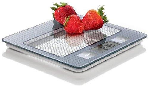 Laica KS1024S Bilancia da Cucina Digitale, 5 kg, Display LCD, Silver