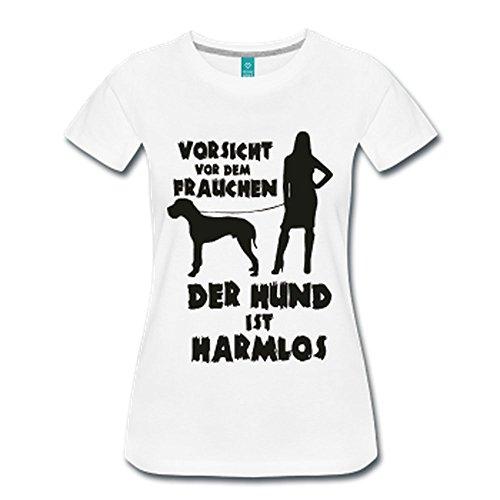 Große Dogge: Vorsicht vor dem Frauchen – der HUND ist HARMLOS Schwarz