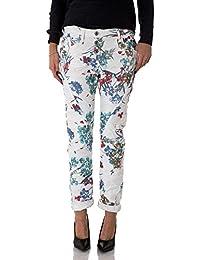 PLEASE - P78a 4u1 femme flowered jeans pantalon baggy