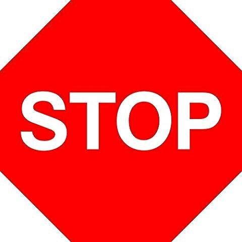 Panneaux Stop - Stop et Donnez à votre Route de