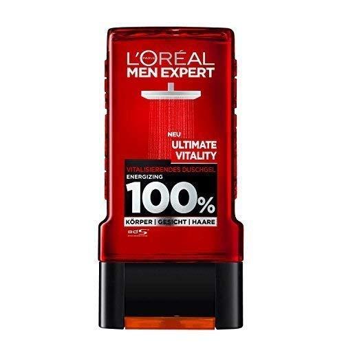 L'Oréal Men Expert Duschgel Ultimate Vitality, 4er Pack ( 4 x 300ml)