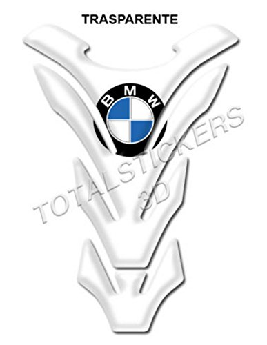Resin 3D Sticker for Tank Pad of Motorcycles BMW B-107, Transparent
