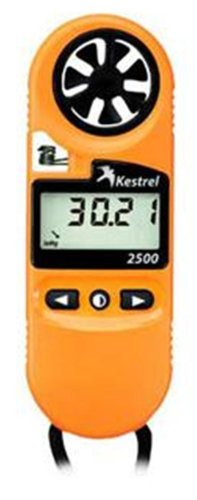 Kestrel 2500 Pocket Weather Anemometer - Orange