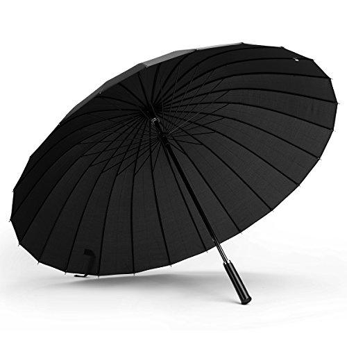 Paraguas Gran tamaño Prueba Viento Aire Libre 24