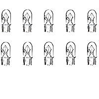INNEN 10x W5W T10 12V 5W W2,1x9,5d LAMPEN 10 ST/ÜCK STANDLICHT POSITIONSLICHT KENNZEICHEN FUSSRAUMBELEUCHTUNG JURMANN LongLife /& Ersch/ütterungsfest