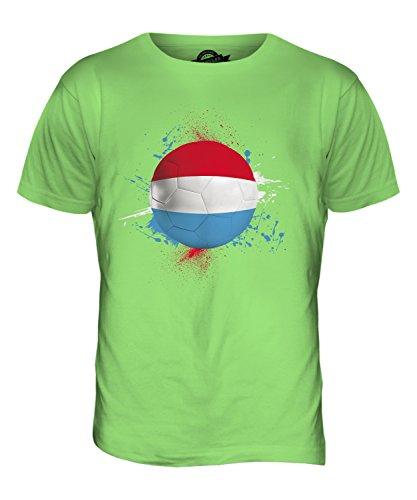 CandyMix Luxemburg Fußball Herren T Shirt Limettengrün