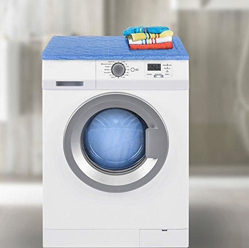HomeTextiles Housse de machine à laver avec rembourrage, crème