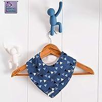 Babero bandana Fondo de mar. Para bebés, niños o adultos con necesidades especiales. P_149. ***ENVÍO GRATUITO A ESPAÑA***