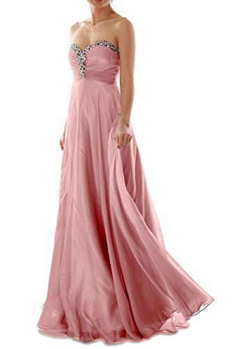 MACloth - Robe - Plissée - Sans Manche - Femme Rose - Blush Pink