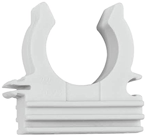 Index ABPRG32 - Abrazadera plastica de presion con pre-rosca M-6 blanca 32