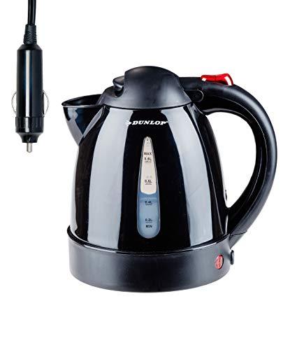 Preisvergleich Produktbild Wasserkocher 12 Volt für das Auto & Wohnmobil -Perfekt für Camping & Reisen,  mit extra Sicherung
