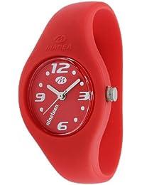Marea Nineteen B35503/25 - Reloj unisex de cuarzo, correa de silicona color rojo