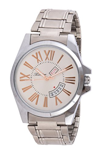 Timebre Royal Ivory Time & Date Analog Watch image