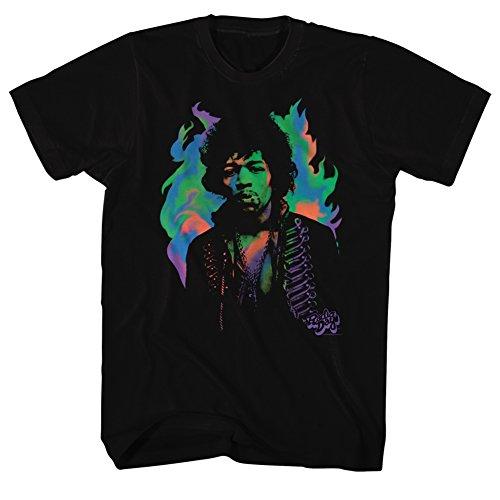 Jimi Hendrix - Herren-Purple Haze T-Shirt Black
