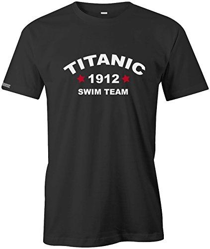 Titanic 1912 Swim Team - HERREN T-SHIRT in Schwarz by Jayess Gr. L - Swim-team T-shirts
