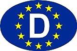 carstyling XXL Aufkleber Europa-D 125 x 85 mm Deutschland Fanartikel Olympia ~ schneller Versand innerhalb 24 Stunden ~