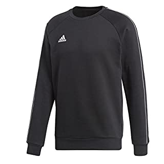 adidas Herren Core 18 Sweatshirt, Black/White, XL