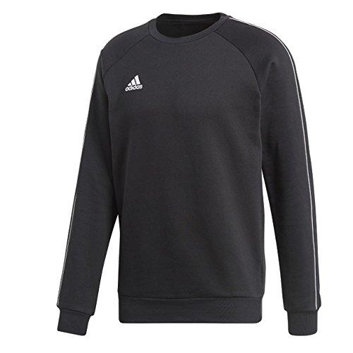 adidas Herren CORE18 Sweatshirt, Black/White, M