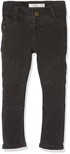 NAME IT Baby-Mädchen Jeans NITTIRSANNE Skinny Pant NMT NOOS, Grau (Asphalt), 92
